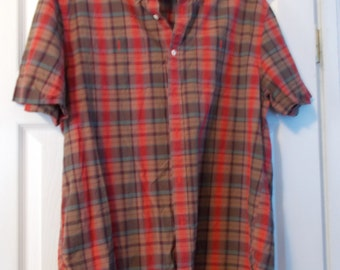 Vintage Retro Mans Shirt- L.L.BEAN-Large