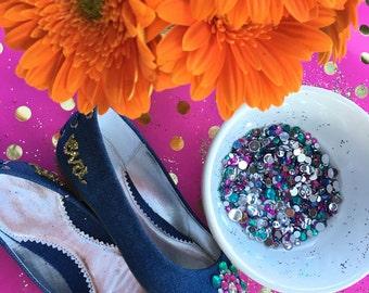DECORATE YOUR SHOES!!! kids shoes - Canvas Ballet flats