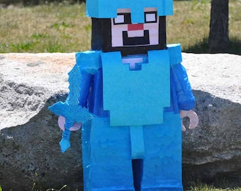 Minecraft Party Theme Pinata
