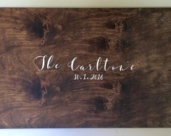 Wood Guestbook, Rustic Guest book, Wedding Guestbook, Wedding Guest Book, Rustic Wedding, Guest Book Alternative, Guestbook Alternative