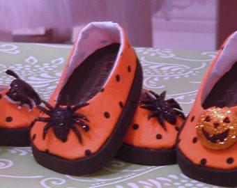 Halloween Ballet Flats for American Girl Dolls