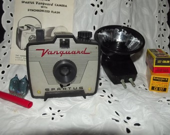 Vintage camera with accessories & box