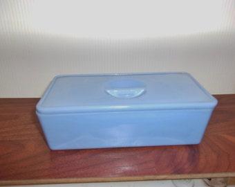 Jeannette Delphite Refrigerator Left Over Dish