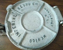 Vintage Imperial Aluminum Cast Iron Tortilla Press Hecho En Mexico