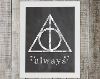 Harry Potter Deathly Hallows Symbol - 'always'