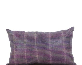 12 x 20 Pillow Cover Ikat Pillow Cover Old Ikat Pillow Cover Throw Pillow Decorative Pillow FAST SHIPMENT with ups or fedex - 09005