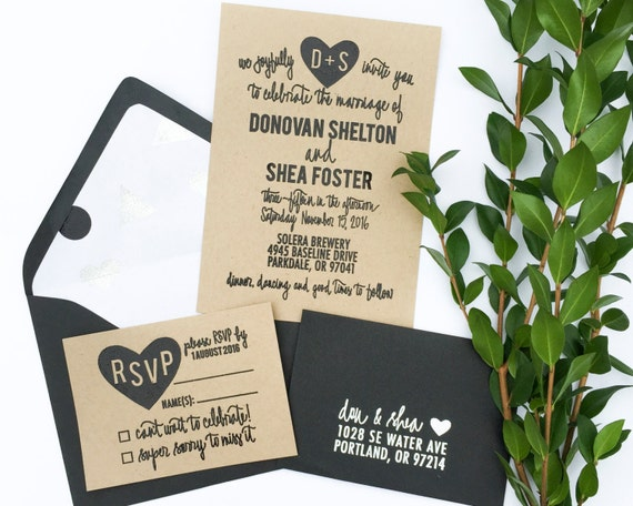 Wedding Invite Stamp: Wedding Invitation Stamp Suite Wedding Invitation RSVP