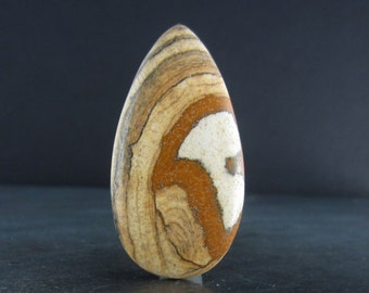 Gorgeous Reversible Owyhee Jasper Cabochon  , Natural stone B5502