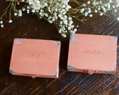 Vintage Mr. and Mrs. Ring Bearer Box by Burlap and Linen Co