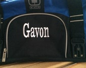 OGIO Big Dome duffle bag that can be monogrammed and the perfect gift for Graduation or Groomsmen