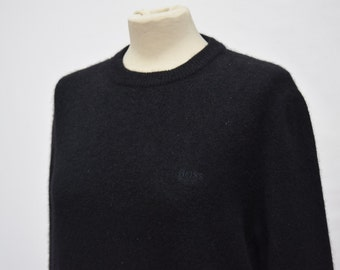 Hugo Boss Black Virgin Wool Sweater (DOWN FROM 34.99)