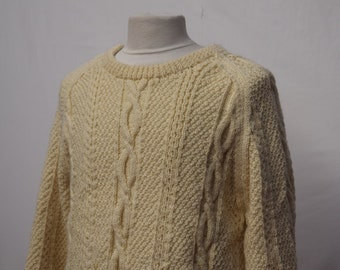 Cream Mens Heavy Knitwear (DOWN FROM 29.99)