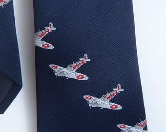 Vintage D L Sells Necktie Airplanes Avor England
