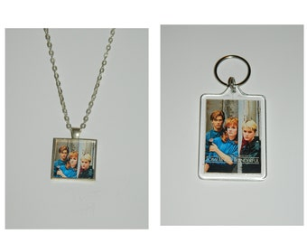 Some kind of wonderful Glass Pendant Necklace and/ or Keychain