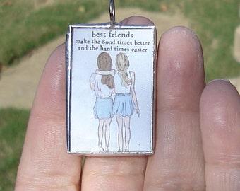 Best Friends Sisters Friendship jewelry