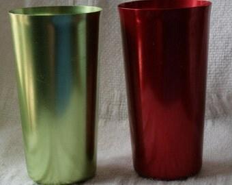 Vintage Color Craft Aluminum Tumblers