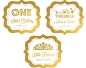 Personalized Birthday Stickers, Personalized Birthday Labels, Wedding Favor Labels -  set of 24 labels