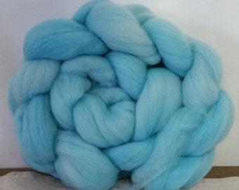 Wool Roving- Summer Sky
