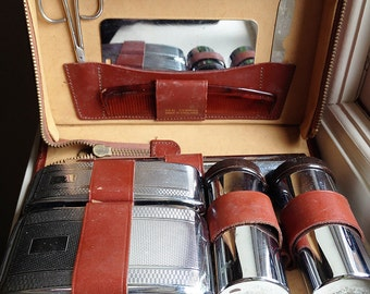 Gentleman's Travel Vanity Set