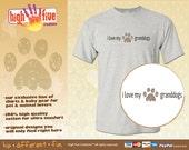 Dog T-Shirt - I Love My Granddogs