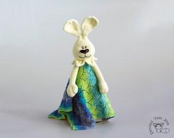 BunnyToy Baby Lace Blanket  - pdf knitting pattern