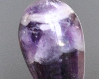 super seven 7 melody stone Grape pendant.  #8028