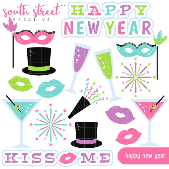 New Year's Eve Party Cute Clipart Personal by ...