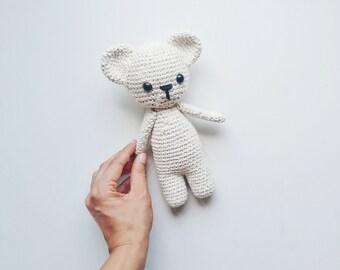 Amigurumi PATTERN- Crochet Bear Amigurumi Pattern-Amigurumi Animal Pattern