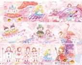 1 Roll of Limited Edition Washi Tape: Alice in Wonderland