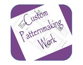 Custom Listing Purchase For Andrew Zimmerman **Custom Sewing Pattern** Design Your Idea and Bring It to Life