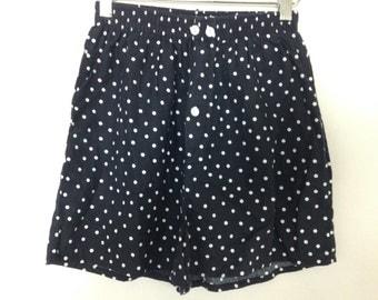 polka dot boxer shorts size S