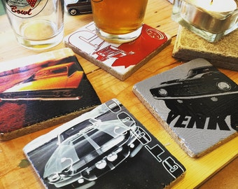 American Muscle Car Coaster Set (4)