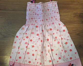 Minnie Mouse Smock Style Dress~2T