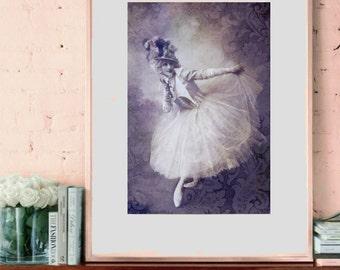 Vintage image altered art,Anna Pavlova,ballerina,dance,Image Instant Download.