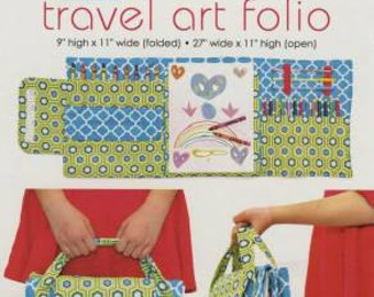 Modkid Travel Art Folio 060AF by Patty Young Sewing Pattern