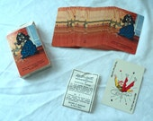 Collectible Vintage DOG 52 Playing Cards REDI-SLIP Remembrance  Brown & Bigelow St. Paul Minnesota