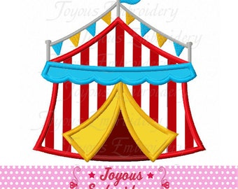 Instant Download Circus Tent Applique Machine Embroidery Design NO:2024