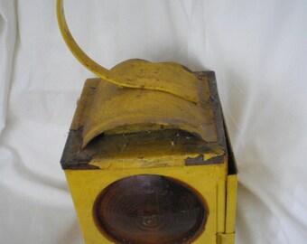 Vintage roadside lantern