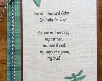 Father's Day Card For Husband-Stepfather-Significant Other