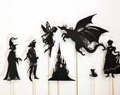 Create Your Own Fairy-Tale: Shadow Puppet Set for Kids