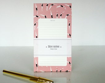 "1 Plongeuses ""Notes"" notepad - 1 bloc-notes Plongeuses ""Notes"""