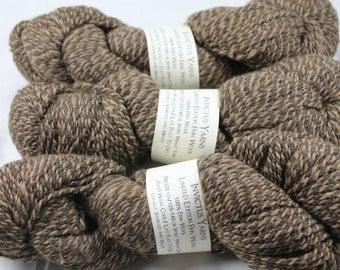 Finn Wool Brown Barber Pole Limited Edition Yarn