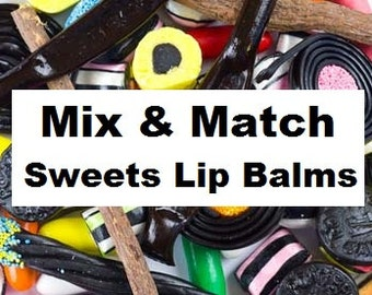 Sweetie Themed Lip Balm- choose 1 tube or mix and match