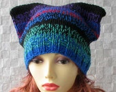 Cat Ears Beanie Knit Cat ears hat Beanie Hats e Knitting Knit Hat Perfect Accessories for her