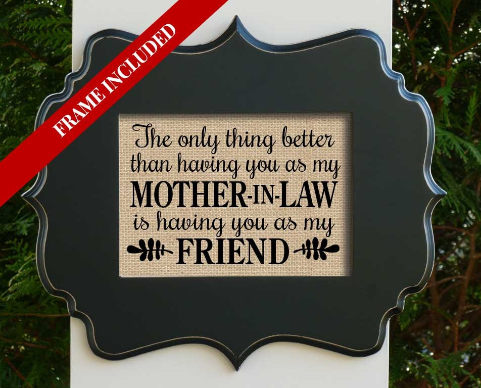Good Gifts For Mothers In Law: Mother-in-Law Gift Mom Gift Mothers Day Gift Mom Quote