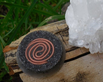 B4 Energy Art ORGONE Copper Coil pocket piece! Life force energy for only 3 dollars each + free shipping to US!