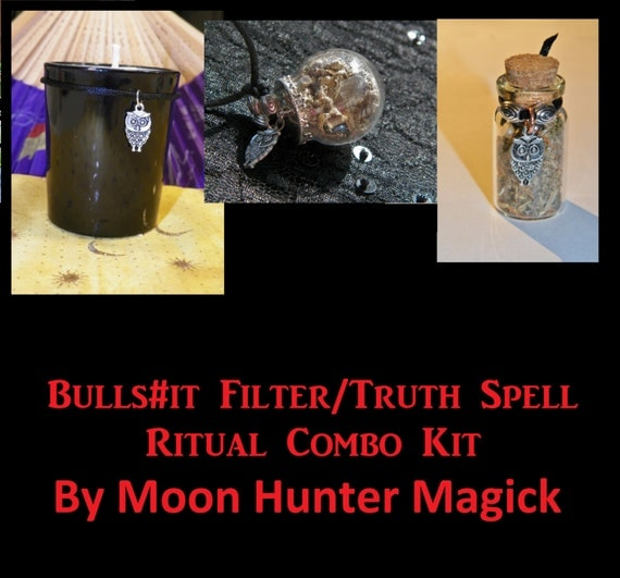 Truth Ritual Combo Kit Bulls#!t Filter© Truth Kit