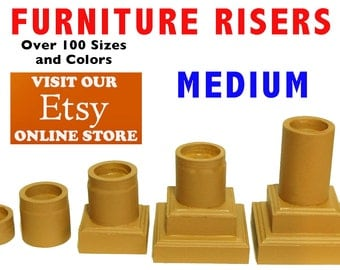 MEDIUM Furniture Risers, Bed Lifters