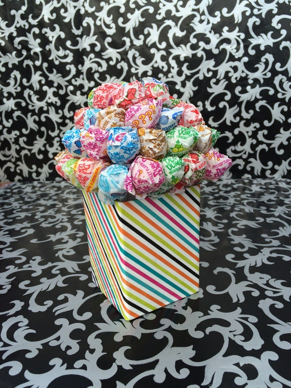how to make a dum dum lollipop bouquet