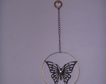 hanging butterfly decoration, butterfly ornament